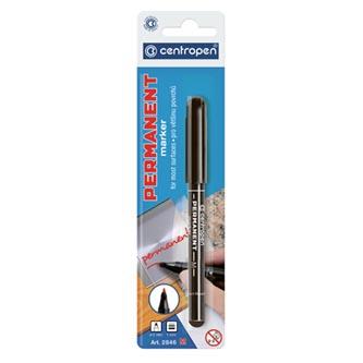 Centropen, marker 2846, černý, 20ks, 1mm, alkoholová báze, cena za 1ks