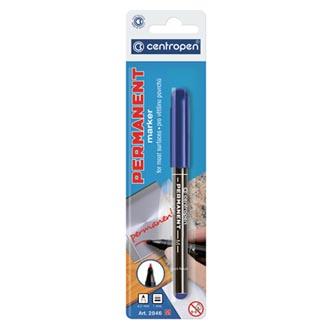 Centropen, marker 2846, modrý, 20ks, 1mm, alkoholová báze, cena za 1ks