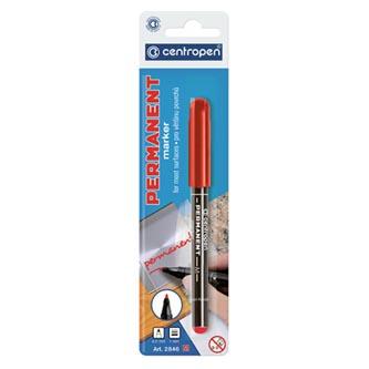 Centropen, marker 2846, červený, 20ks, 1mm, alkoholová báze, cena za 1ks