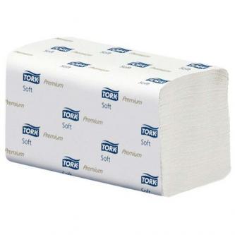 Papírový ručník ZZ, 230 x 230mm, 2550ks, dvouvrstvý