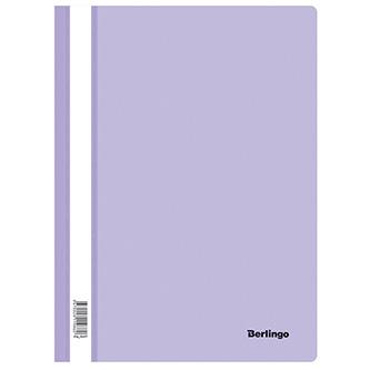 Rychlovazač A4, 180mic, fialový, Berlingo, Instinct, průhledný, 20ks