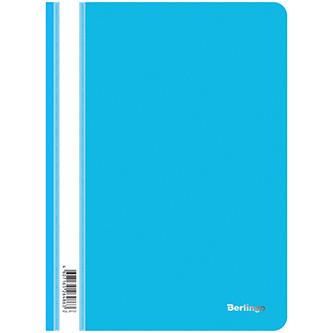 Rychlovazač A4, 180mic, modrý, Berlingo, Instinct, průhledný, 10ks