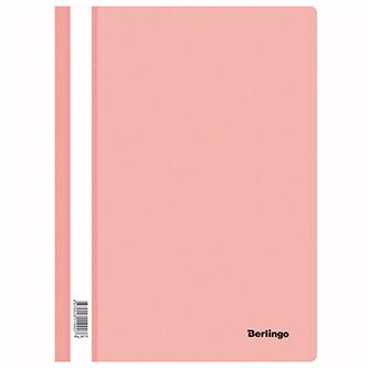 Rychlovazač A4, 180mic, růžový, Berlingo, Instinct, průhledný, 20ks