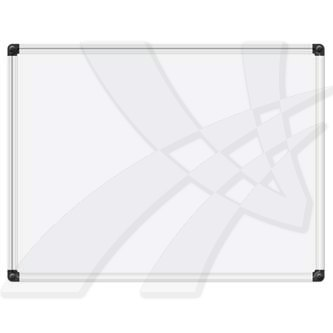 Tabule magnetická, 60 x 90cm, bílá, Vision Board