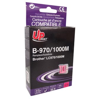 UPrint kompatibilní ink s LC-1000M, magenta, 10ml, B-970M, pro Brother DCP-330C, 540CN, 130C, MFC-240C, 440CN