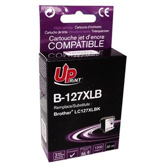 UPrint kompatibilní ink s LC-127XLBK, black, 1200str., 30ml, B-127XLB, Brother MFC-J4510 DW