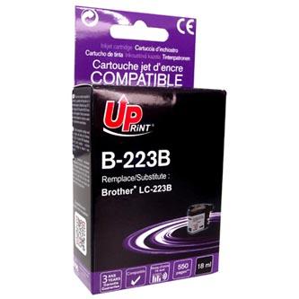 UPrint kompatibilní ink s LC-223BK, LC-223BK, black, 550str., 18ml, B-223B, 1ks, pro Brother MFC-J4420DW, MFC-J4620DW
