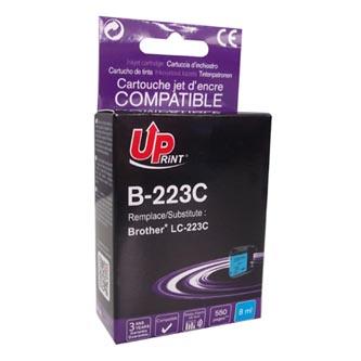 UPrint kompatibilní ink s LC-223C, LC-223C, cyan, 550str., 8ml, 1ks, pro Brother MFC-J4420DW, MFC-J4620DW