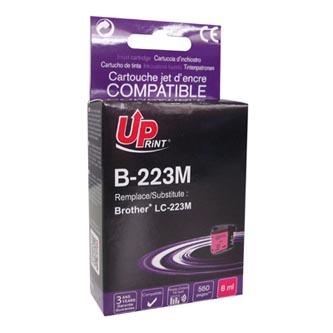 UPrint kompatibilní ink s LC-223M, LC-223M, magenta, 550str., 8ml, B-223M, 1ks, pro Brother MFC-J4420DW, MFC-J4620DW