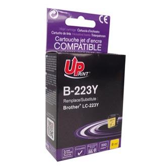 UPrint kompatibilní ink s LC-223Y, LC-223Y, yellow, 550str., 8ml, B-223Y, 1ks, pro Brother MFC-J4420DW, MFC-J4620DW