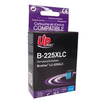 UPrint kompatibilní ink s LC-225XLC, LC-225XLC, cyan, 1200str., 13ml, B-225XLC, 1ks, pro Brother MFC-J4420DW, MFC-J4620DW