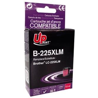 UPrint kompatibilní ink s LC-225XLM, LC-225XLM, magenta, 1200str., 13ml, B-225XLM, 1ks, pro Brother MFC-J4420DW, MFC-J4620DW