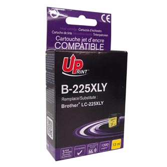 UPrint kompatibilní ink s LC-225XLY, yellow, 1200str., 13ml, B-225XLY, 1ks, pro Brother MFC-J4420DW, MFC-J4620DW