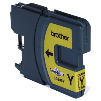 Brother originální ink LC-980Y
