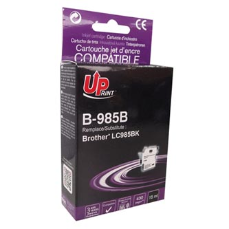 UPrint kompatibilní ink s LC-985BK, black, 15ml, B-985B, pro Brother DCP-J315W