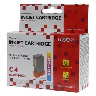 Logo kompatibilní ink s BCI24C, color, 15ml, pro Canon BCI24C - pro S200, S300, i320, i450, MPC-200, 190