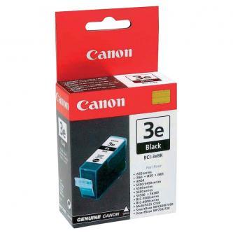 Canon originální ink BCI3eBK, black, 500str., 4479A002, Canon BJ-C6000, 6100, S400, 450, C100, MP700