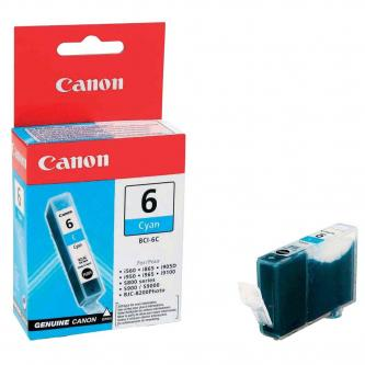 Canon originální ink BCI6C, cyan
