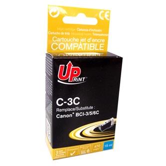 UPrint kompatibilní ink s BCI6C, cyan, 14ml, C-3C, pro Canon S800, 820, 820D, 830D, 900, 9000, i950