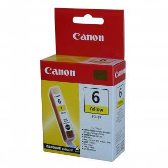 Canon originální ink BCI6Y, yellow, 280str