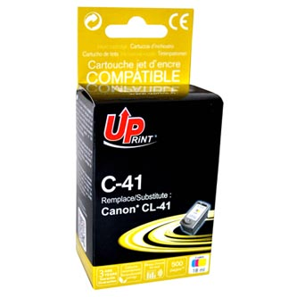UPrint kompatibilní ink s CL41, color, 500str., 18ml, C-41CL, pro Canon iP1600, iP2200, iP6210D, MP150, MP170, MP450