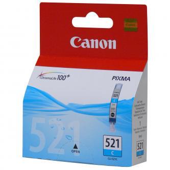 Canon originální ink CLI521C, cyan, 505str., 9ml, 2934B001, Canon iP3600, iP4600, MP620, MP630, MP980
