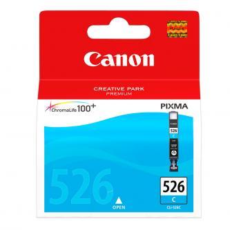 Canon originální ink CLI526C, cyan, blistr s ochranou, 9ml, 4541B010, 4541B004, Canon Pixma MG5150, MG5250, MG6150, MG8150