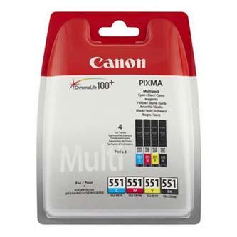 Canon originální ink CLI551, CMYK