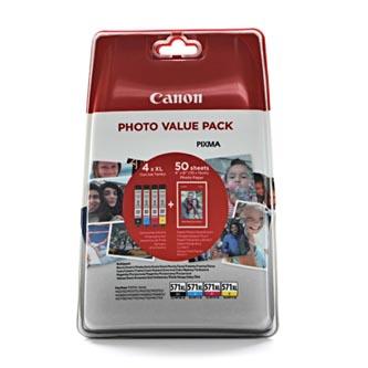 Canon originální ink 0332C005, cmyk, CLI-571XL C/M/Y/BK