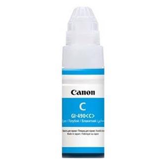 Canon originální ink GI-490 C, cyan, 7000str., 70ml, 0664C001, Canon PIXMA G1400, G2400, G3400