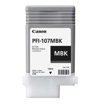 Canon originální ink PFI107MBK, matte black, 130ml, 6704B001