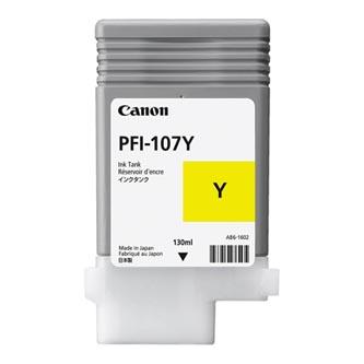 Canon originální ink PFI107Y, yellow, 130ml, 6708B001