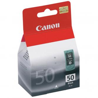 Canon originální ink PG50, black, 750str., 22ml, 0616B001, Canon iP2200, MP150, 170, 450