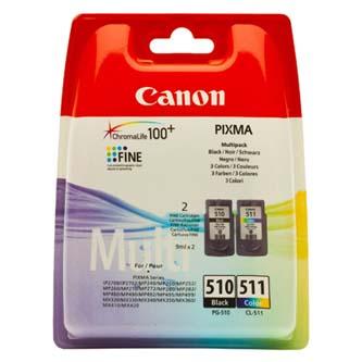 Canon PG-510/CL-511, black + c