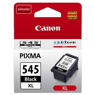 Canon originální ink PG-545XL, black, 400str., 15ml, 8286B001, Canon Pixma MG2450, 2550, 3550