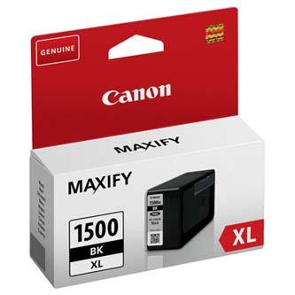 Canon originální ink PGI 1500XL, black