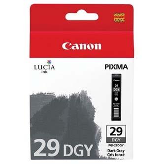 Canon originální ink PGI29 Dark Grey