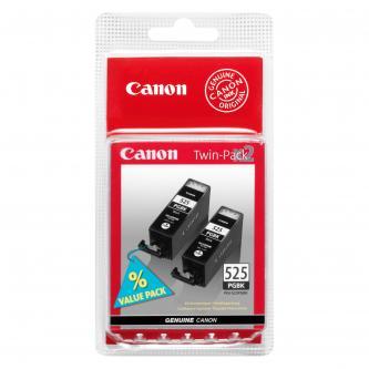 Canon originální ink PGI525PGBK Twin Pack, black, 2x19ml, 4529B010, 4529B006, Canon Pixma MG5150, 5250, 6150, 8150