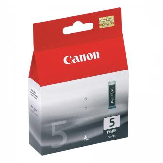 Canon originální ink PGI5BK, black, 360str., 26ml, 0628B001, Canon iP4200, 5200, 5200R, MP