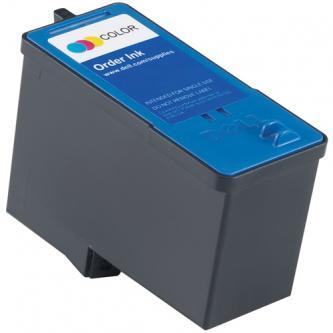 Dell originální ink 592-10227, 592-10292, CH884, GR277, color, high capacity, Dell 966, 968