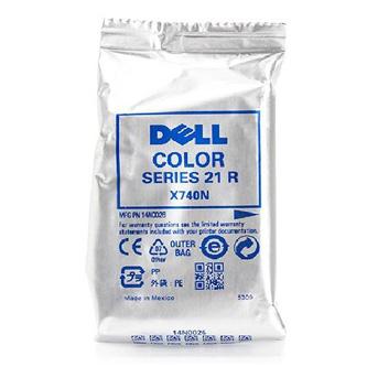 Dell originální ink 592-11333, 592-11334, Y499D, X740N, color, 170str., Dell V313