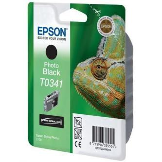 Epson originální ink C13T034140, photo black, 628str., 17ml, Epson Stylus Photo 2100
