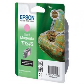 Epson originální ink C13T034640, light magenta, 440str., 17ml, Epson Stylus Photo 2100