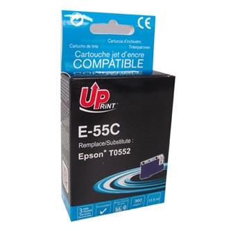 UPrint kompatibilní ink s C13T055240, cyan, 13ml, E-55C, pro Epson Stylus Photo RX425, 420