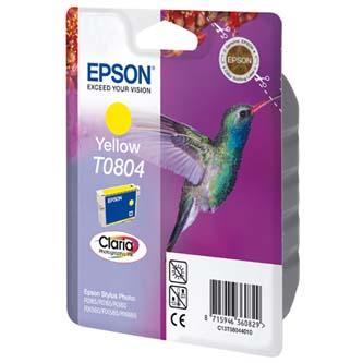 Epson originální ink C13T08044011, yellow, 7,4ml