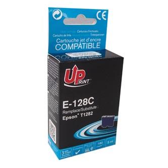 UPrint kompatibilní ink s C13T12824011, cyan, 180str., 5ml, E-128CE, pro Epson Stylus S22, SX125, 420W, 425W, Stylus Office BX305