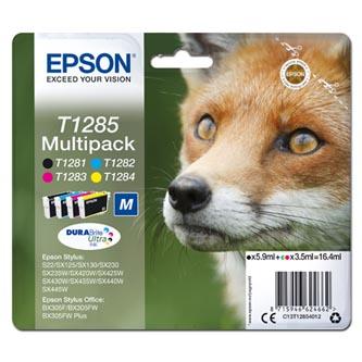 Epson originální ink C13T12854012, T1285, CMYK, 16,4ml