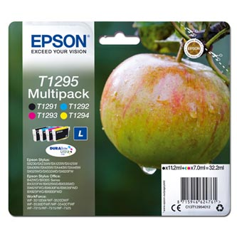 Epson originální ink C13T12954012, T1295, CMYK, 32,2ml