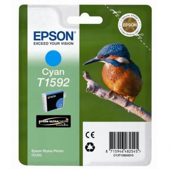 Epson originální ink C13T15924010, cyan, 17ml, Epson Stylus Photo R2000