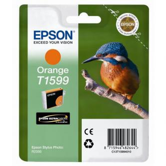 Epson originální ink C13T15994010, orange, 17ml, Epson Stylus Photo R2000